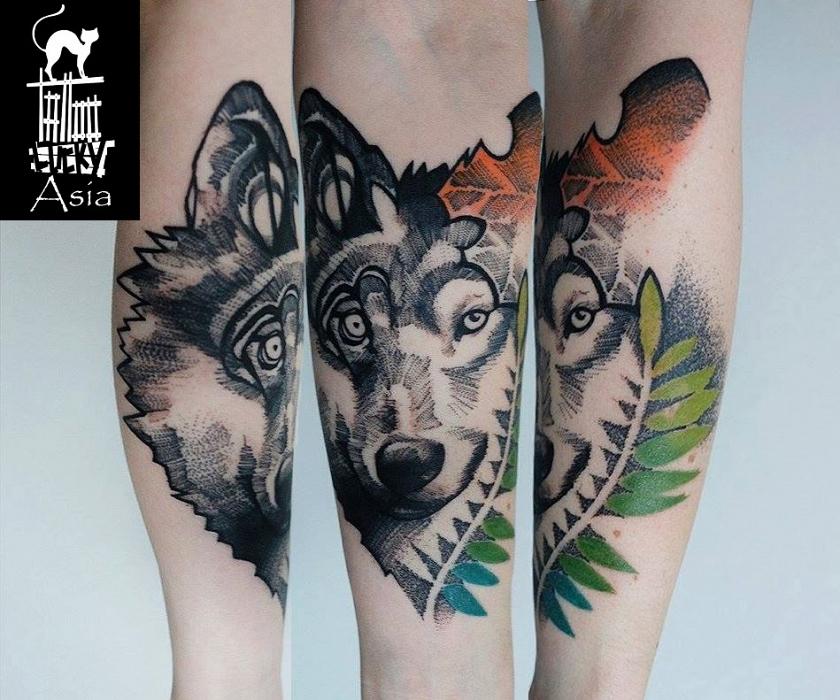 Tatuaże Damskie Asia